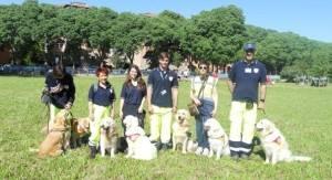 L'Associazione Estense Dog alla Festa dello Sport all'ITI di Ferrara
