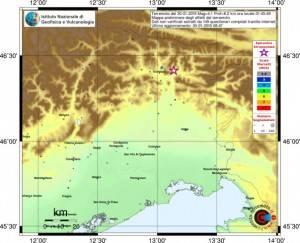 Terremoto M4.1 in provincia di Udine...importante comunicato INGV