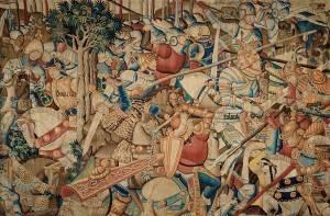 Scena della Battaglia di Leonardo Da Vinci