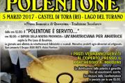 Castel di Tora (Ri): apre le porte per celebrare il prelibato polentone