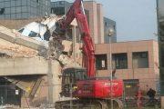 Ferrara: avviata la demolizione di un edificio minore del Palaspecchi