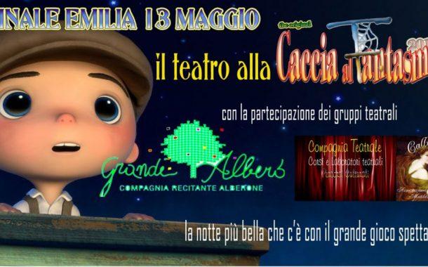 Finale Emilia (mo): Calliope e Grande Albero le due compagnie teatrali protagoniste della Caccia al Fantasma