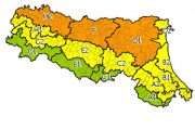 Emilia Romagna: allerta meteo arancione sino alla mezzanotte del 25 giugno