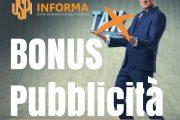 Credito di imposta e ottimi bonus fiscali per chi investe in pubblicità sulla stampa regolarmente registrata