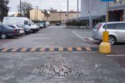 Bondeno (fe): salta la pavimentazione del parcheggio del centro