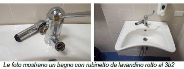 Ferrara: Ospedale di Cona lavandini rotti e manutenzione inadeguata