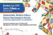 Bondeno (fe): Apericena di Carnevale alla Sala 2000