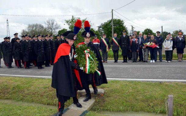 Argenta: la commemorazione in memoria del Carabiniere Albino Vanin