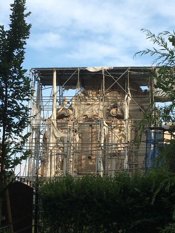 Terre del Reno (fe): l'Associazione Oratorio Ghisilieri stanzia 67 mila euro per il recupero della Chiesa Vecchia di San Carlo