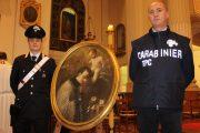 Castelfranco Emilia (mo): restituito il dipinto di