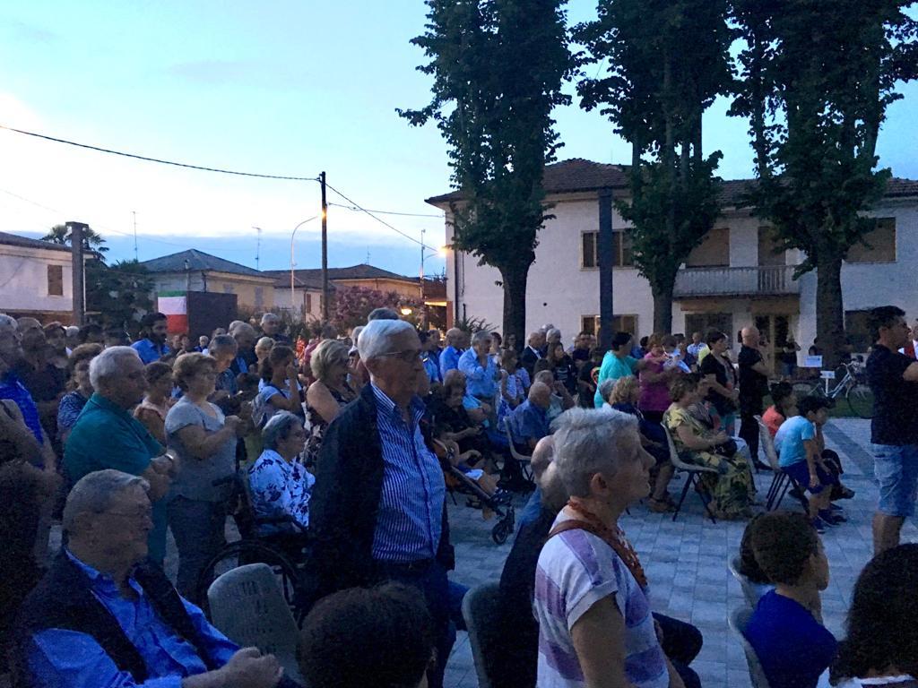 Bondeno (fe): una grande festa ha inaugurato la nuova piazza di Scortichino