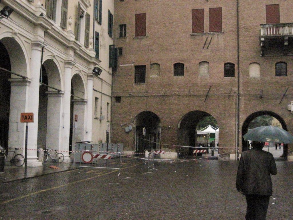 Ferrara si candida all'assegnazione di fondi regionali per i centri storici colpiti dal sisma 2012