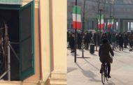 Sant'Agostino (fe)...Tornano a suonare le campane...si riaprono le porte della Chiesa e si inaugura la nuova Piazza Marconi Pertini