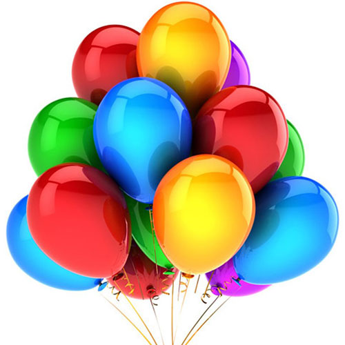 Poggio Renatico (fe): Le Attività di Poggio prendono 'il volo' con 2000 palloncini insieme al carnevale!!