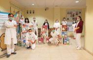 Modena: I bambini e la Pasqua in Ospedale. Uova e Pensieri per i piccoli ricoverati