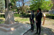 Bondeno (Fe) - 25 aprile 2020 Il sindaco Saletti celebra il 75 anni dalla liberazione