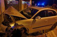 Lagosanto (Fe): Ubriaco non si ferma all'Alt della Guardia di Finanza e si schianta con l'auto contro un cancello