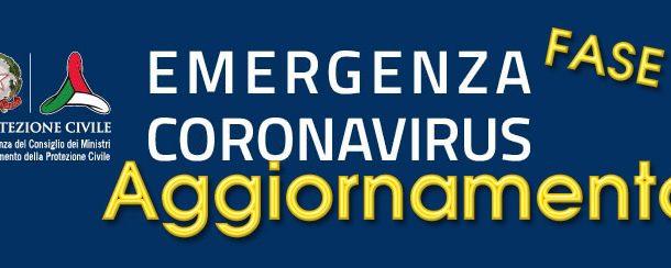 CoronaVirus – Protezione Civile Nazionale – Aggiornamento del 24 Maggio 2020