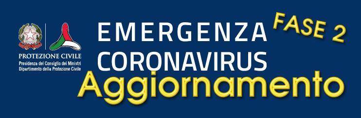 CoronaVirus – Protezione Civile Nazionale – Aggiornamento del 23 Maggio 2020