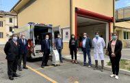 Cento(fe): Caricento dona sanificatori all'Ospedale SS Annunziata