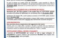 Alto Ferrarese - La polizia locale aggiorna sulle scadenze