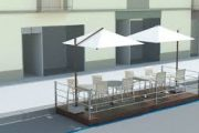 Bondeno (Fe) - Dehors - Via libera del Comune all'ampliamento degli spazi