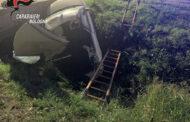 Argelato (Bo) - Grave incidente in via canaletta