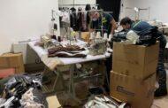 San Giuseppe di Comacchio: I finanzieri sequestrano un laboratorio tessile