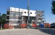 Terre del Reno (Fe) - Mirabello - Iniziati i lavori al centro civico