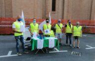 Poggio Renatico (Fe) - I vigili scendono in piazza