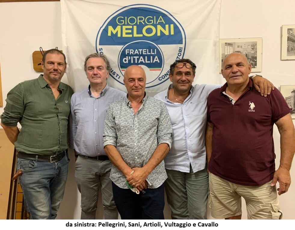 Poggio Renatico (Fe) - Nasce il circolo di Fratelli d'Italia