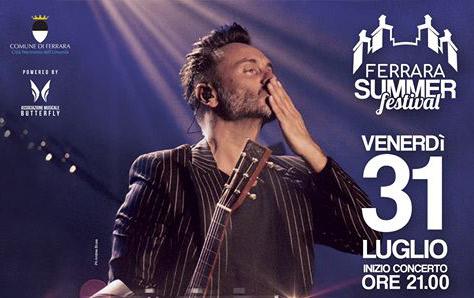 Ferrara - Eventi - Nek sul
