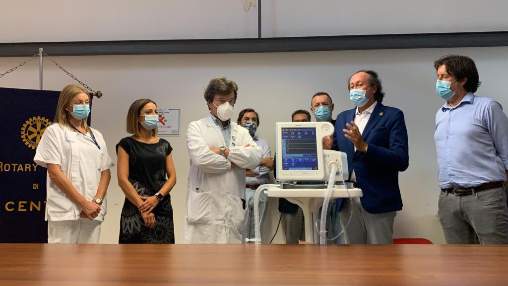 Cento (Fe) - Il Rotary dona un attrezzatura all'Ospedale