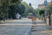 Vigarano Mainarda (FE) - Incidente al semaforo della Rondona