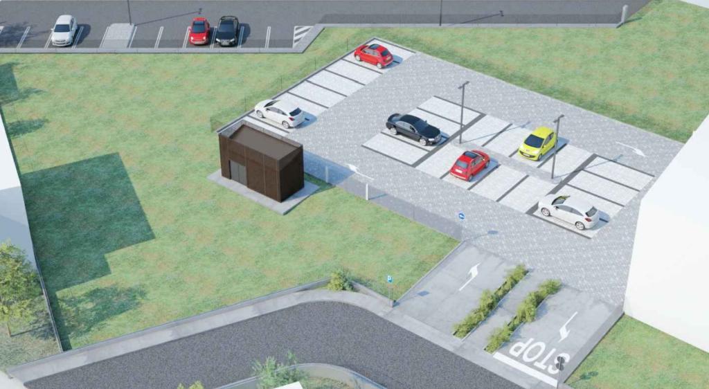 Bondeno (fe): nuovo parcheggio di via Manzoni
