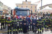 Bondeno (fe): Inaugurata la nuova auto pompa serbatoio dei VVFF