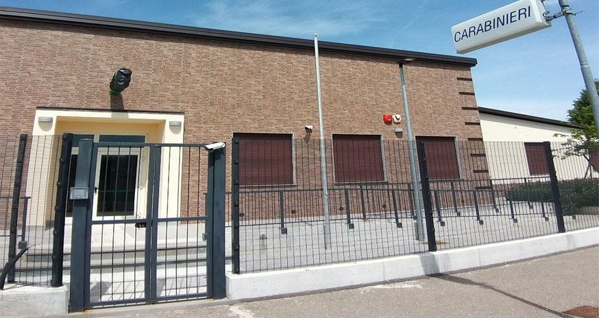 Terre del Reno (fe): La nuova Caserma dei Carabinieri