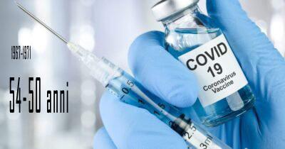 AUSL-Fe: Vaccinazioni 50 - 54 enni