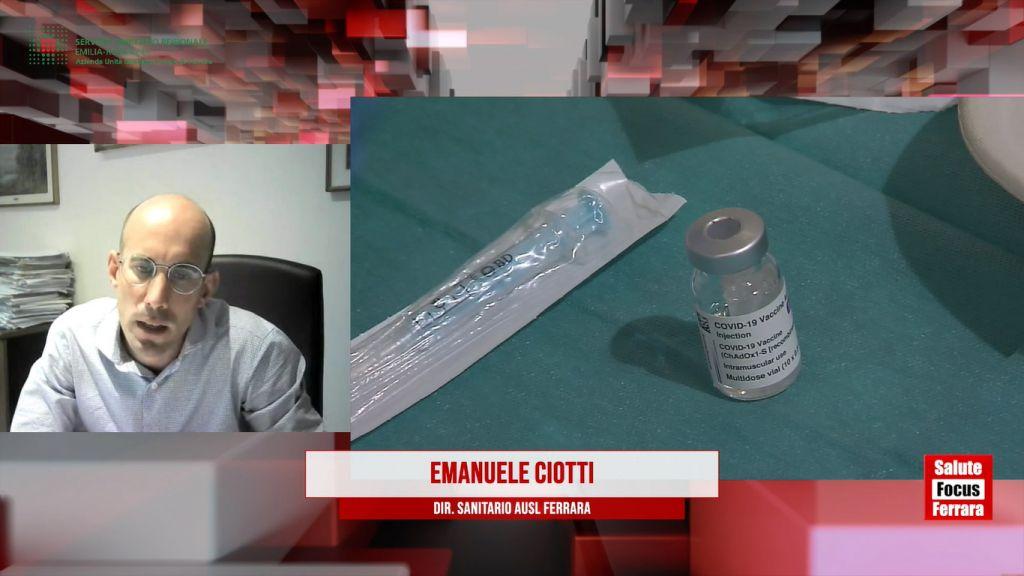 AUSL-Fe: Vaccini Entro il 16 Agosto vaccinato con due dosi il 70% dei ferraresi